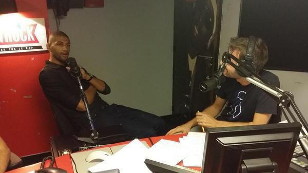 Nicloas Batum �tait avec nous ce soir dans la Radio Libre !