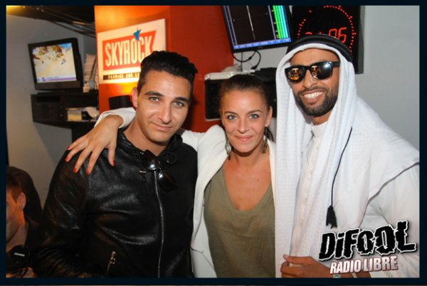 L'Alg�rino et le Prince Temenik 2 dans la Radio Libre de Difool !