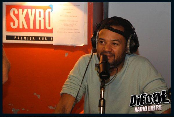 Fabrice Ebou� dans la Radio Libre de Difool !