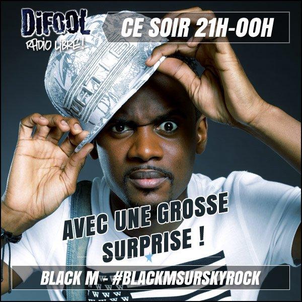 Black M d�barque ce soir !