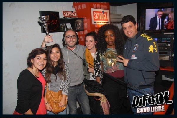 Romano en compagnie de C�dric et la Team Cris Cab !