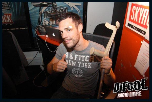 Retour de Samy dans le studio de la Radio Libre !
