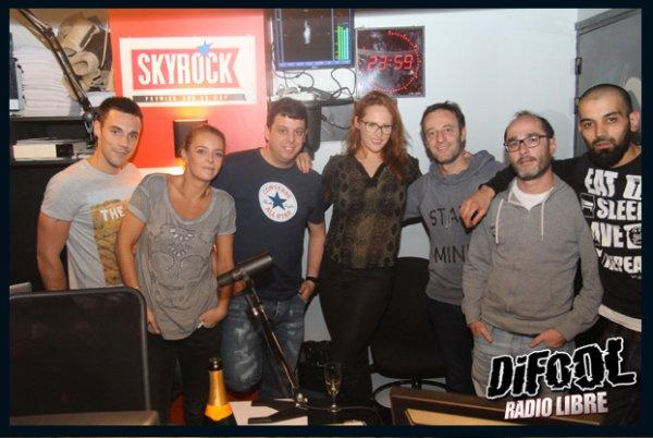 Emy Russo dans la Radio Libre de Difool !