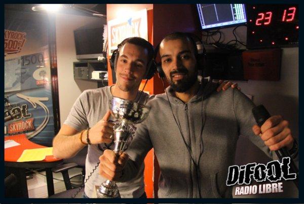 Victoire de Karim au Clash de la drague !