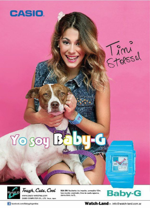 Montre Casio Baby-G!!!