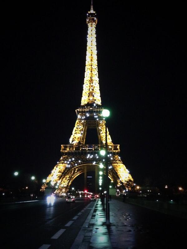 Bienvenue Martina à Paris!