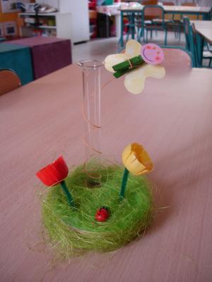 Bricolage march de printemps voyagez travers nos activit s Bricolage printemps objets naturels idees