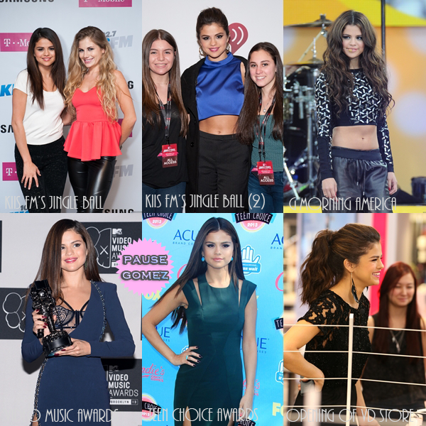 PAUSEGOMEZ AWARDS // BEST APPEARANCE (2013)