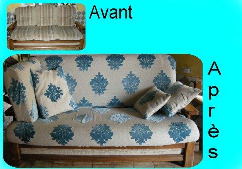 canap mousse recouvrir 2 des lys de styles. Black Bedroom Furniture Sets. Home Design Ideas