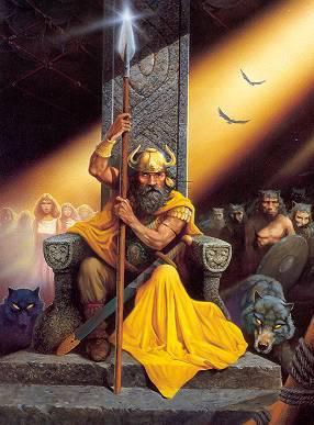 Mythologie nordique odin dieu en chef dans la - Dieu nordique 4 lettres ...