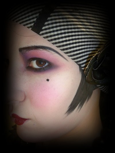 Maquillage ann e 20 blog de lylimakeup - Maquillage annee 20 ...