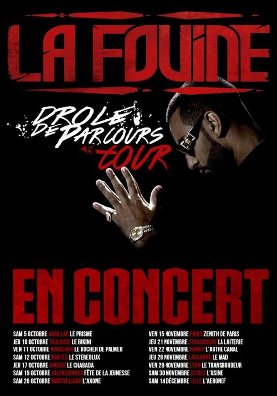 """Voici toutes les dates de concert du """"Dr�le de Parcours Tour 2013"""" dans toute la France"""