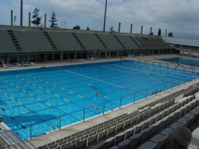 La piscine olympique des j o de barcelone en 1992 le for Club de natation piscine parc olympique