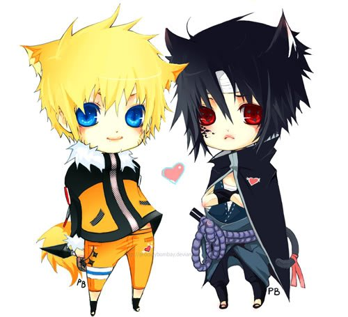 Sasuke loves Naruto and Naruto loves Sasuke...It's perfect Love...