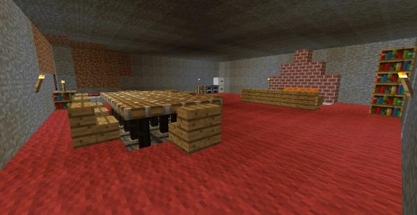 Ma petite maison sous terre minecraft gameblog863 for Maison container sous terre