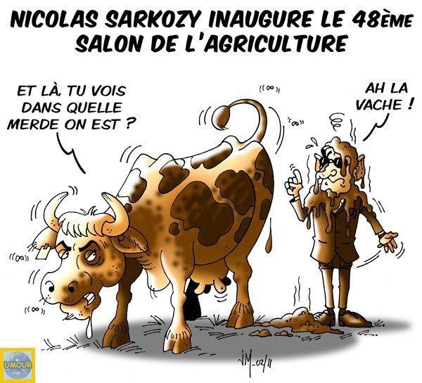 Salon de l 39 agriculture humour du jour for Vache salon de l agriculture