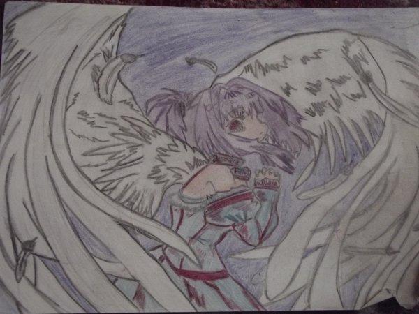 Articles de megi93 tagg s dessin ange ou demon m rhi l - Dessin ange demon ...