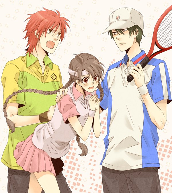 Manga where a girl is secretly dating the tennis captain