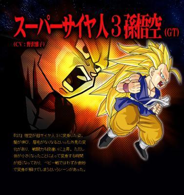 Sangoku super sayen 3 gt dragon ball z budokai tenkaichi 3 - Sangoku sayen 3 ...