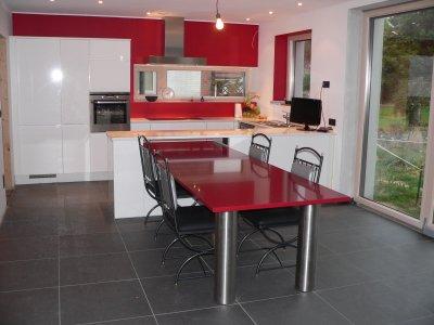 Faire Une Table Avec Un Plan De Travail Maison Design Nazpocom - Table de cuisine avec plan de travail