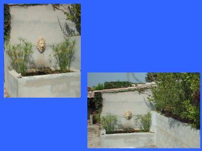 R alisation de vos id e terrassement bassin et fontaine for Idee terrassement