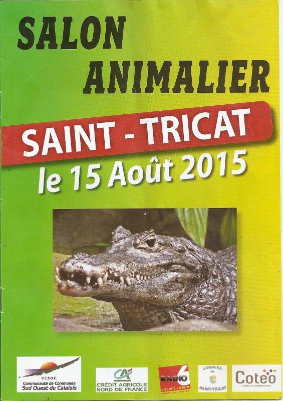 salon animalier saint tricat 2015 programme nenecircus 62