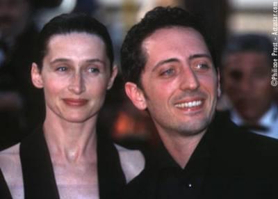 gad elmaleh et son fils noe et sa femme