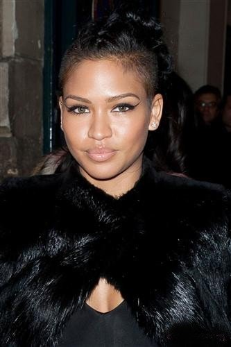 Cassie at Givenchy:Afterparty-Paris Fashion Week Womenswear