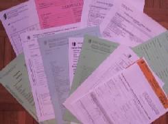 Descriptif des papiers n�cessaires pour les inscriptions en Haute Ecole + co�ts