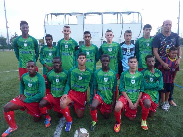 L'�quipe U19 victorieuse de l'AS Bellecour par 4 � 0