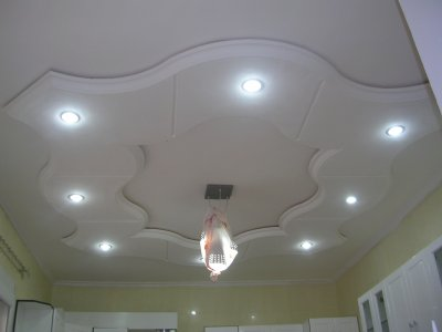 Plafond pour cuisine platre deco for Plafond de cuisine en platre
