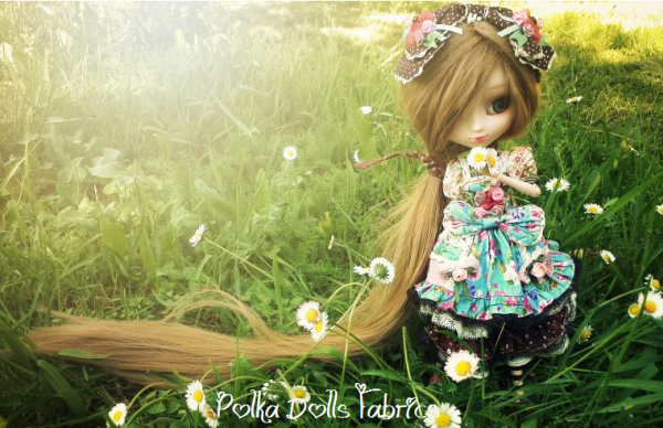Pr sentation de dolly pullip alice du jardin polka for Alice du jardin pullip