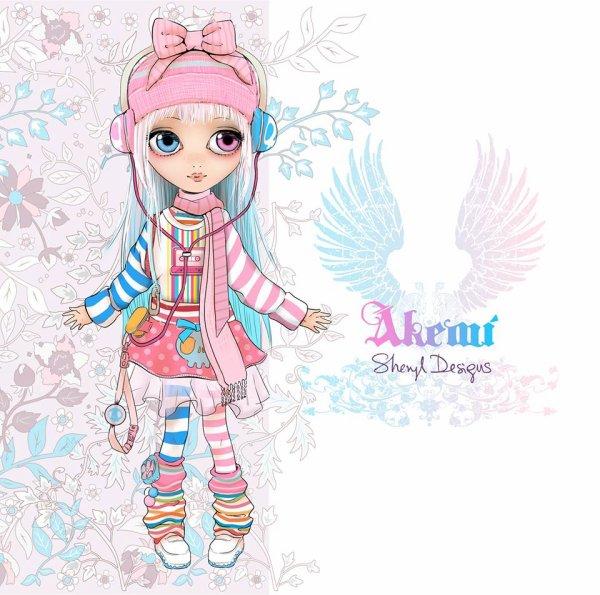 - Pullip Akemi by Sheryl Design -