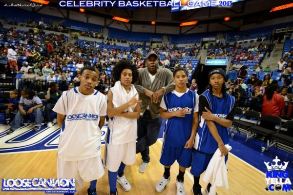 Celebrity Basketball Game 2013 in St.Louis 5/5/13 (Mindless