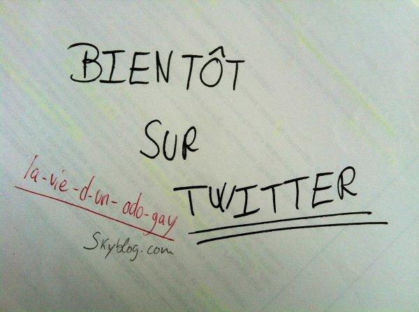 Bient�t sur Twitter !