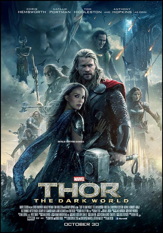 Natalie - Thor 2 - Affiche :➲ Natalie-Portman, votre source fran�aise sur Natalie Portman.