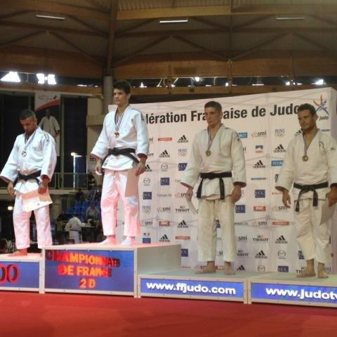 Adrien Bardel 3 ème des Championnats de France 2D