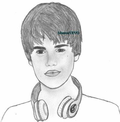 Comment dessiner justin bieber - Justin bieber dessin ...