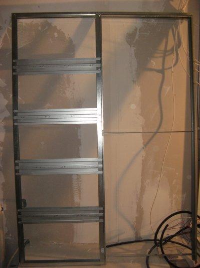 Montage du chassis pour la porte galandage l 39 atelier for Video montage porte a galandage