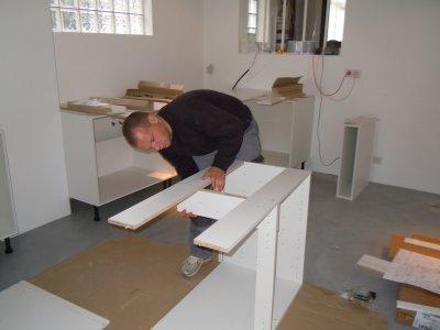 montage de la cuisine l 39 atelier de tif 39 n et jp. Black Bedroom Furniture Sets. Home Design Ideas