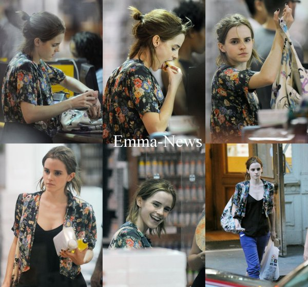 Emma a New York - Le 26 Juillet 2012