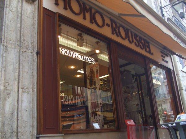 Pour les nostalgiques de nos sorties � Rouen ... l�che vitrine ...
