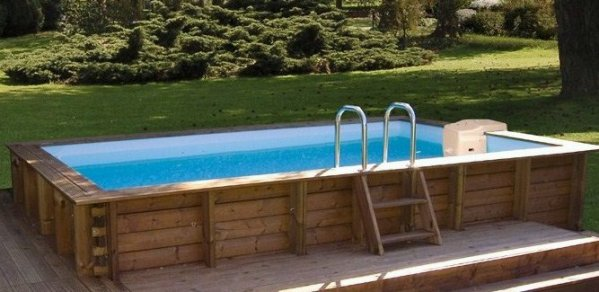 Blog de 2b lecorse ma piscine wood line classy for Piscine hors sol wood grain