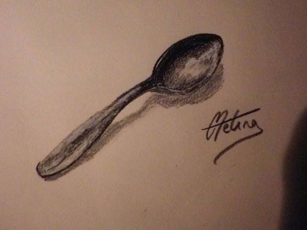 Dessin 14 une cuillere blog a dessins - Cuillere dessin ...