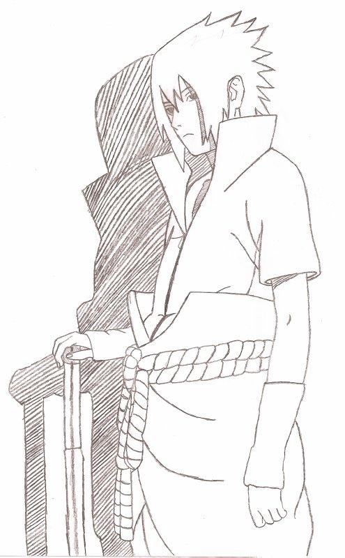 Dessin de moi sasuke shippuden actu naruto images - Dessin a imprimer naruto shippuden ...