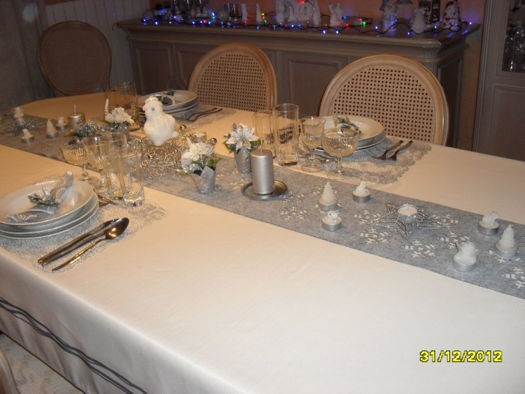 Nouvel an 1 deco de table blog de nathy170268 for Table nouvel an