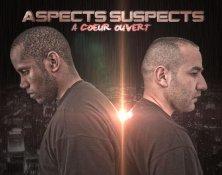 """ASPECTS SUSPECTS -  Album """"A COEUR OUVERT"""" enfin dispo!!! :)"""