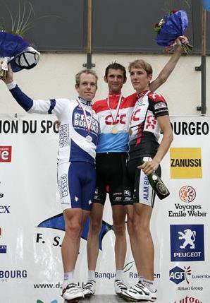 Championnat du Luxembourg 2005 - contre-la-montre et en ligne