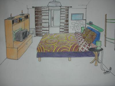 Comment j 39 aimerai que ma chambre soit 23 septembre - Comment dessiner une chambre en perspective ...