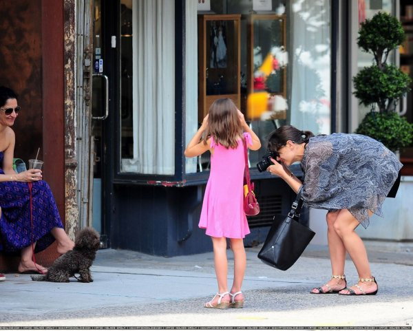 Katie et Suri dans New York - Le 12 Juillet -